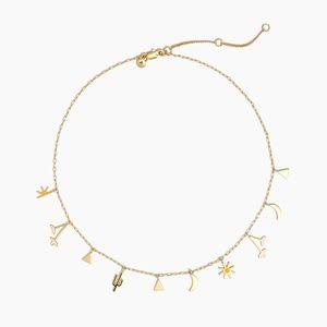 Madewell Desert Charm Necklace
